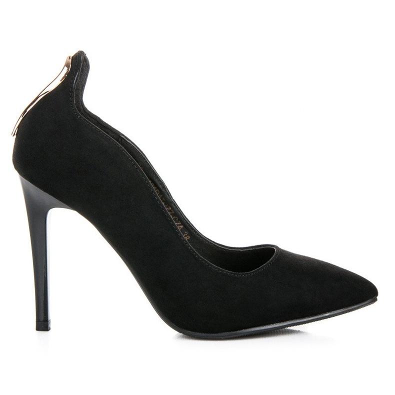 W. Potocki Sexy black high heels