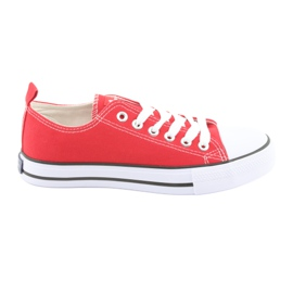 American Club red sneakers