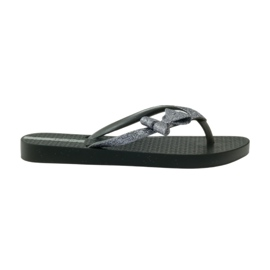 Flip flops with Ipanema bow