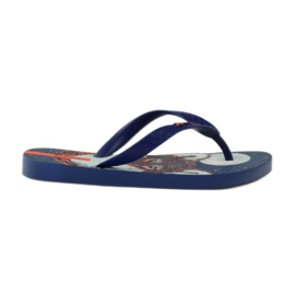 Flip flops with Ipanema wolf navy blue