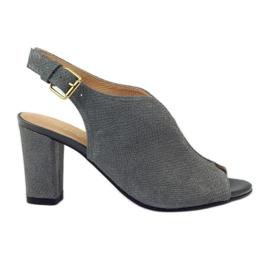 ESPINTO 248 gray cobra sandals