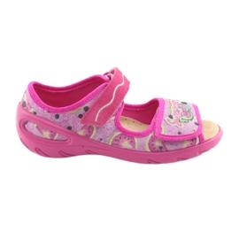 Pink Befado children's shoes pu 433X030