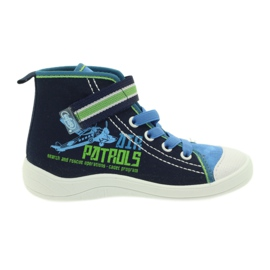 Navy Befado children's shoes 268X066
