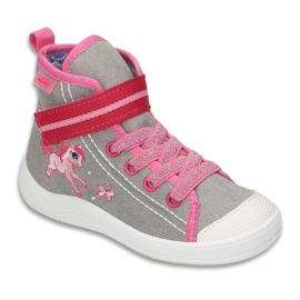 Grey Befado children's shoes 268X059