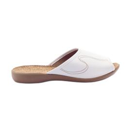 Befado women's shoes pu 254D058 white
