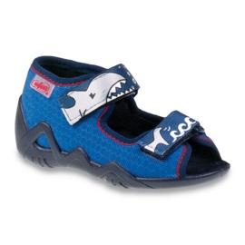 Blue Befado children's shoes 250P069