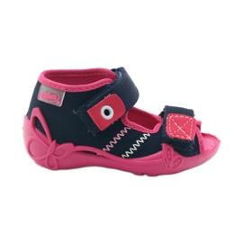 Befado children's shoes 242P056 navy pink