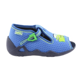 Blue Befado children's shoes 217P094