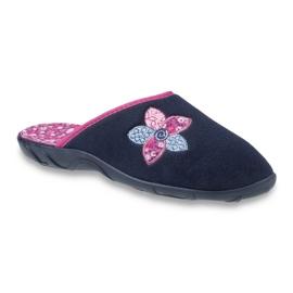 Befado colored women's shoes 235D154 navy