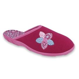Befado colored women's shoes 235D156 pink