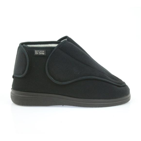 Befado women's shoes pu orto 163D002 black