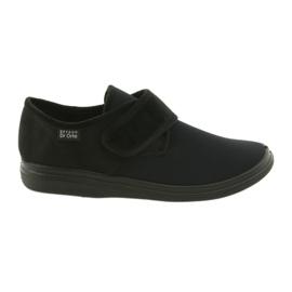 Black Befado men's shoes pu 131M003