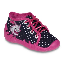 Befado colored children's footwear komf. up to 23 cm 130P039