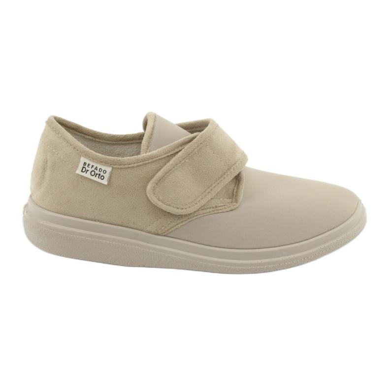 Befado women's shoes pu 036D005 beige