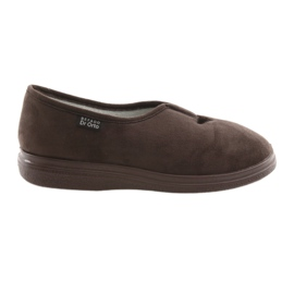 Befado women's shoes pu 057D026 brown