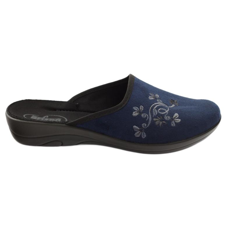 Befado women's shoes pu 552D005 navy blue
