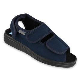 Befado women's shoes pu 676D003 navy