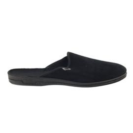 Black Befado men's shoes pvc 715M009