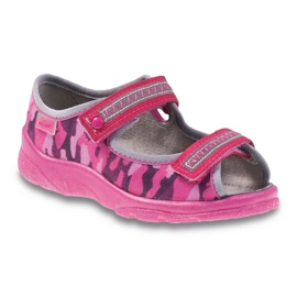 Pink Befado children's footwear 969X120