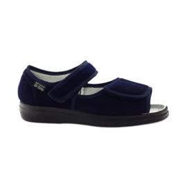 Befado women's shoes pu 989D002 navy