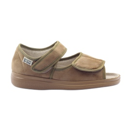 Befado women's shoes pu 989D003 brown