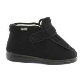 Befado women's shoes pu orto 987D002 black