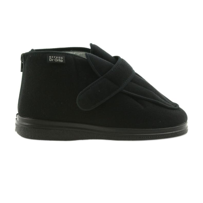 Befado men's shoes pu orto 987M002 black