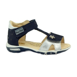 Velcro sandals Bartuś 138 navy blue