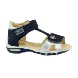 Velcro sandals Bartuś 138 navy blue