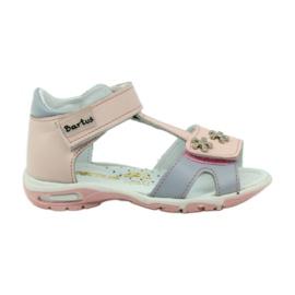 Velcro sandals Bartuś 138 pink