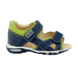 Velcro sandals Bartuś 137 navy blue