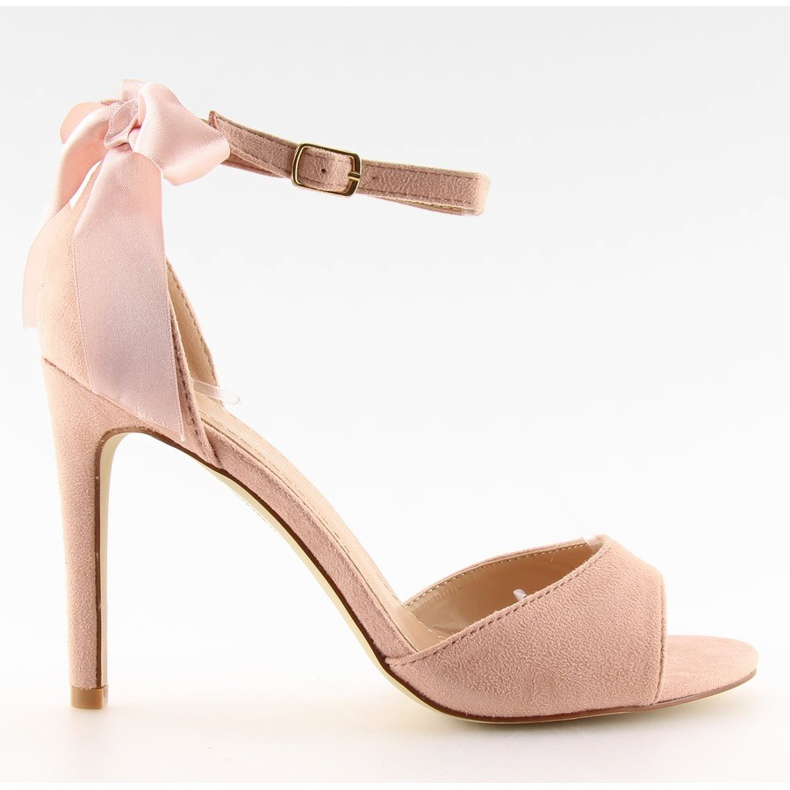 Sandals on a pink stiletto heel Z921-7SA-2 pink