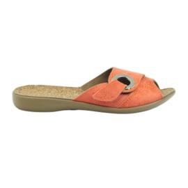 Befado women's shoes pu 265D006 orange