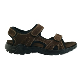 American Club brown American leather men's sandals
