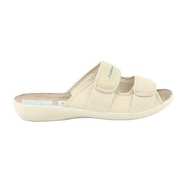 Brown Adanex elastic slippers