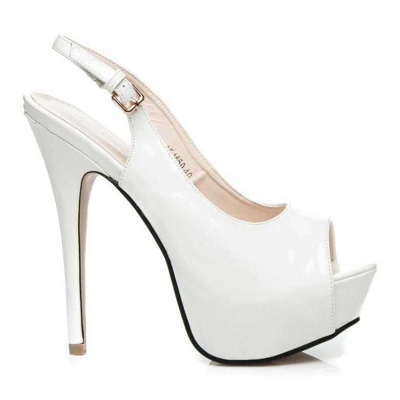 Comer High shine boots white