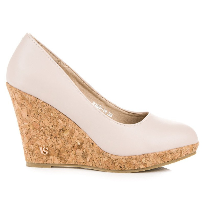 Pumps On Wedge VICES brown