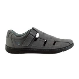 Riko men's shoes sandals 851 grey