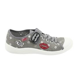 Grey Befado children's shoes 251Q095