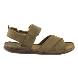 Brown Riko sports sandals 852