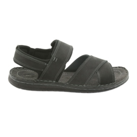 Black Riko men's sandals 852 sports shoes