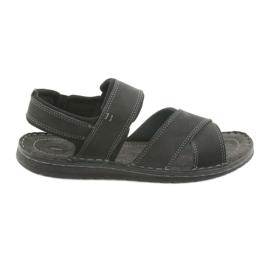 Riko men's sandals 852 sports shoes black