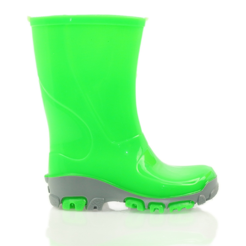 Galoshes with silver ions Ren But green