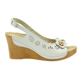 Sandals Gregors 648 white