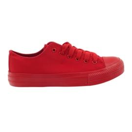 DK Sneakers tied red