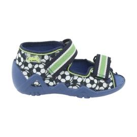 Befado green children's shoes 250P078