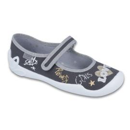 Grey Befado children's shoes 114Y314