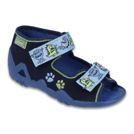 Befado green children's shoes 250P076