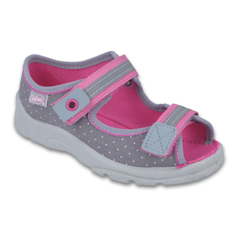 Befado children's shoes 969X126 pink grey