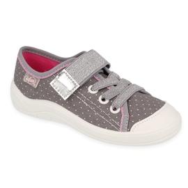 Grey Befado children's shoes 251X107